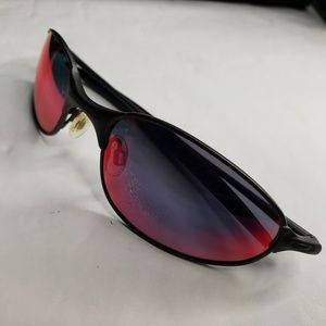 841a98125d5 ... OAKLEY C WIRE Sunglasses w fire red lens